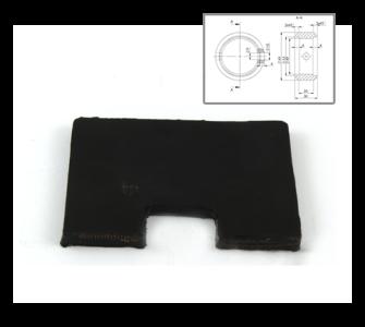 Лопатка за шнек – L115 H80